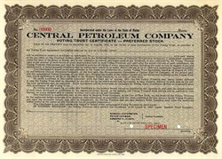 Central Petroleum Company