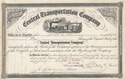 Central Transportation Company 1875 - 1885