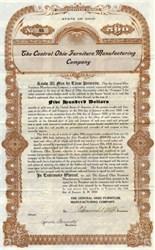 Central Ohio Furniture Manufacturing Company - 1910