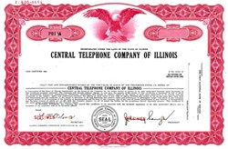 Central Telephone Company of Illinois ( Became Ameritech and later AT&T) - Illinois