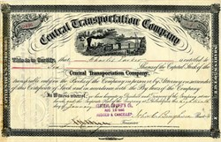 Central Transportation Company - Philadelphia, Pennsylvania 1884