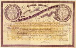 Central Transportation Company - Pennslyvania 1859