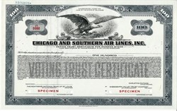 Chicago and Southern Air Lines, Inc.  - Merged with Delta Airlines - 1935