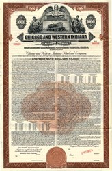 Chicago and Western Indiana Railroad Company - Illinois 1952