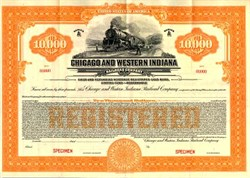 Chicago and Western Indiana Railroad Company - Illinois 1925
