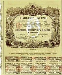 Chargeurs Reunis (United Shippers) 1939 (now known as Chargeurs) - Steam Navigation Company