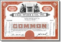 Chas. Pfizer & Co., Inc. ( Now Pfizer Inc - Viagra Maker )