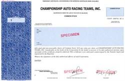 Championship Auto Racing Teams, Inc. - Delaware
