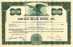 Chicago Beach Hotel, Inc. - Illinois 1943