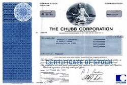 Chubb Corporation - New Jersey 1986