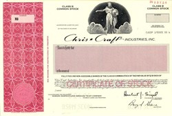 Chris Craft Industries , Inc. ( Acquired by News Corporation ) - Delaware