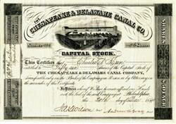 Chesapeake & Delaware Canal Company - 1884