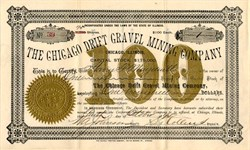 Chicago Drift Gravel Mining Company - Illinois 1896