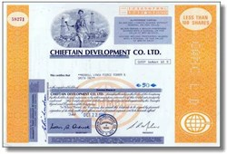 Chieftain Development Co. Ltd.