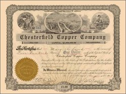 Chesterfield Copper Company 1907