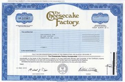 Cheesecake Factory, Inc.