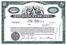 Chemical Fund, Inc. - Delaware 1962