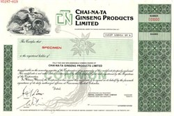 Chai-Na-Ta Ginseng Products Limited - Canada