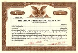 Chicago Heights National Bank - Illinois