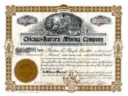 Chicago - Aurora Mining Company 1903