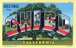 Chico California Postcard