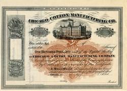 Chicago Cotton Manufacturing Company - Illinois 1870