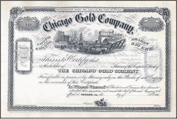 Chicago Gold Company 1860's - Illinois