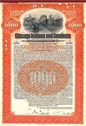 Chicago Indiana and Southern Railroad Company 1906