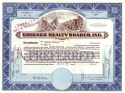 Chicago Realty Shares, Inc. ( Chicago City and River Vignette )