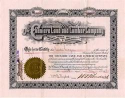 Cheniere Land and Lumber Company - Denver, Colorado 1903