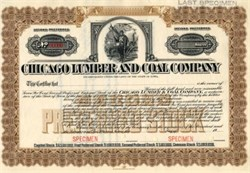 Chicago Lumber and Coal Company 1900