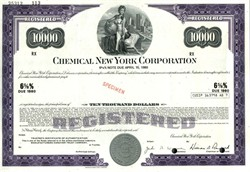 Chemical New York Corporation (Now JPMorgan Chase) - Delaware 1972
