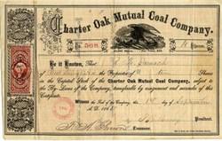 Charter Oak Mutual Coal Company  1865