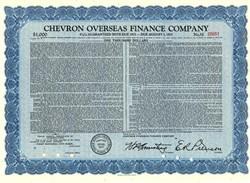 Chevron Overseas Finance Company - Delaware 1967