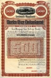 Charles River Embankment Company - Massachusetts 1890