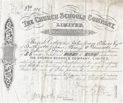 Church Schools Company Limited - 1884