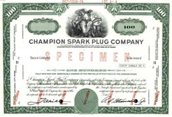 Champion Spark Plug Company - 1970