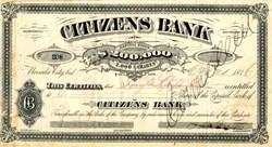 Citizens Bank - Nevada City, California 1876