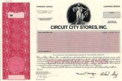 Circuit City Stores, Inc. - Virginia 1996 - Pre Bankruptcy