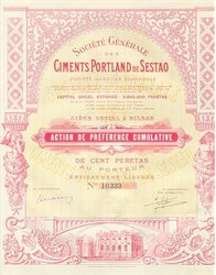 Ciments Portland De Sestao - October 30, 1929