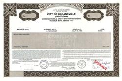 City of Hogansville - Georgia 1993