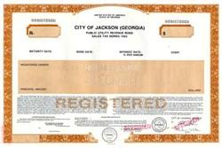 City of Jackson - Georgia 1993
