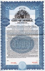 City of Mobile - Alabama 1940
