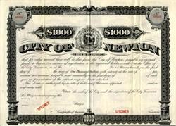 City of Newton - Massachusetts 1900