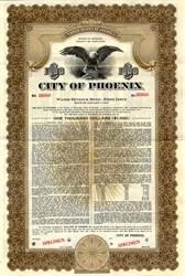 City of Phoenix Water Revenue Bond - County of Maricopa, Arizona 1947