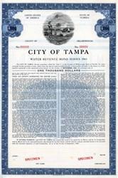 City of Tampa - Florida 1961