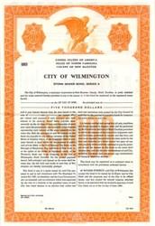 City of Wilmington Storm Sewer Bond - North Carolina 1964