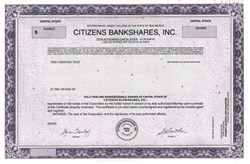 Citizens Bankshares, Inc. - New Mexico