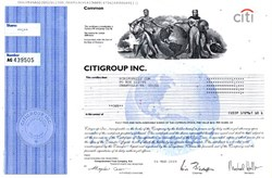 Citigroup Inc.  (TARP bailout by U.S. Government)