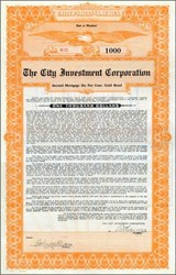 City Investment Corporation 1922 - Maryland
